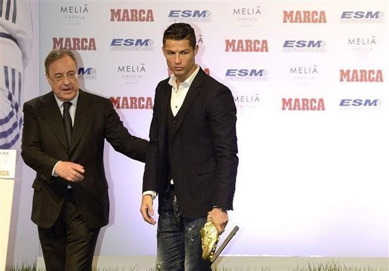 فوتبال دنیا، کریستیانو رونالدو: فلورنتینو پرس هرگز مرا نمی دید و از صمیم قلب برایم کاری نمی کرد، سال جاری هم شایسته بردن توپ طلا هستم