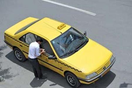 برخورد با تاکسی های فاقد پروانه هوشمند از اول آذر