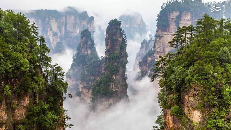 عجیب ترین کوهستان جهان