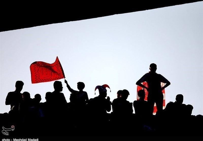 حاشیه بازی پرسپولیس - پاختاکور، تشویق نوروزی با تاخیر و خوشحالی از باز شدن دروازه استقلال