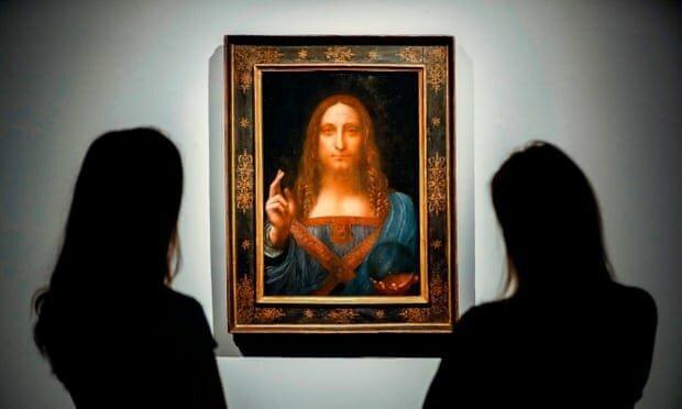 گران ترین نقاشی جهان غایب بزرگ نمایشگاه داوینچی