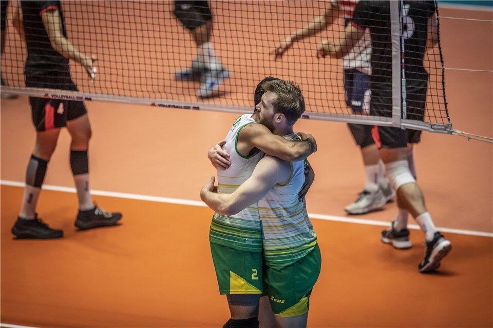 خبرنگاران استرالیا برنده مسابقه حساس قعرنشینان لیگ ملت های والیبال
