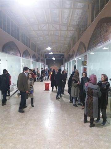 نمایشگاه صنایع دستی در پارک شاهد کرمانشاه برگزار گردید