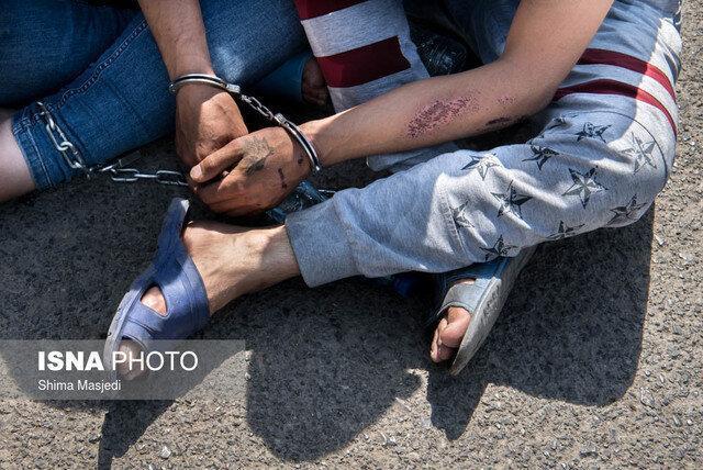 دستگیری دزد تخصصی پاترول