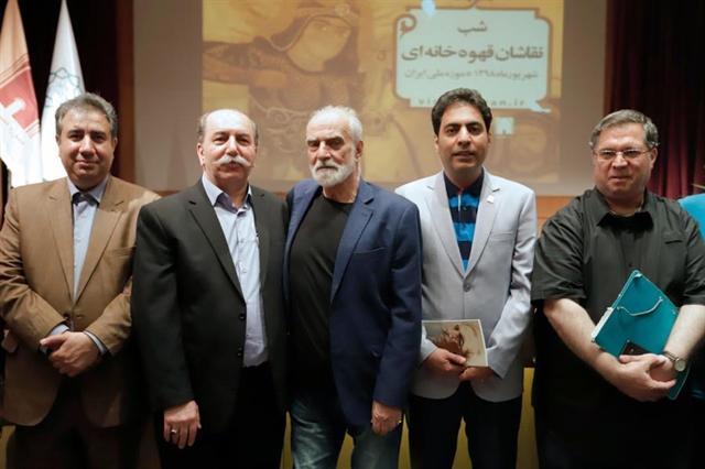 موزه ملی ایران میزبان نقاشان قهوه خانه ای شد