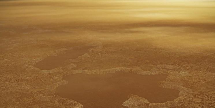 دریاچه های تایتان با انفجار نیتروژن شکل گرفته است