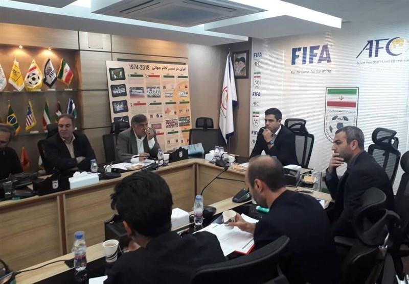 برگزاری نشست هماهنگی دیدار ایران - کامبوج در فدراسیون فوتبال