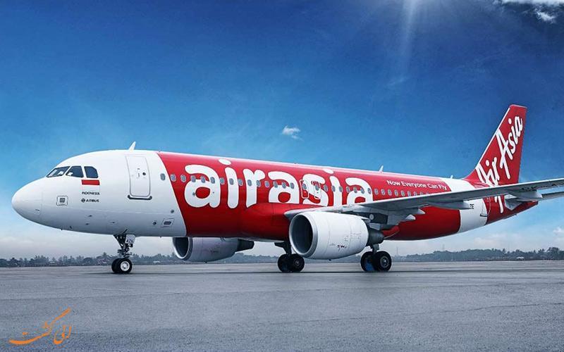 معرفی شرکت هواپیمایی ایر آسیا