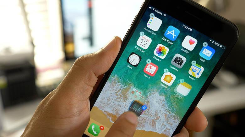 چگونه چندین اپلیکیشن در iOS را با هم انتخاب کنیم و حرکت دهیم