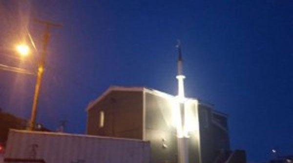 ساخت مسجد در قطب شمال