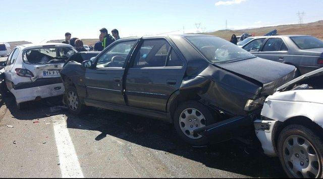وقوع سانحه مرگبار رانندگی در نهبندان، 5کشته و 4مجروح
