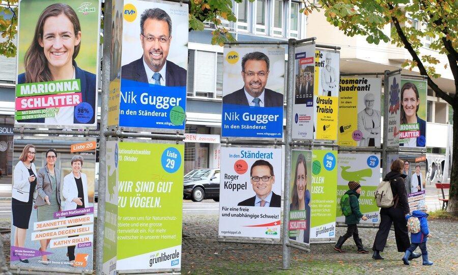موفقیت احزاب سبز در انتخابات پارلمانی سوئیس