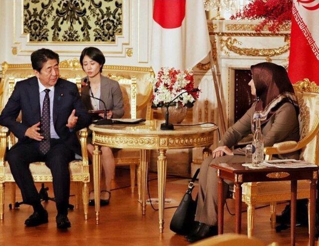 واکنش اینستاگرامی شینزو آبه به دیدار با جنیدی
