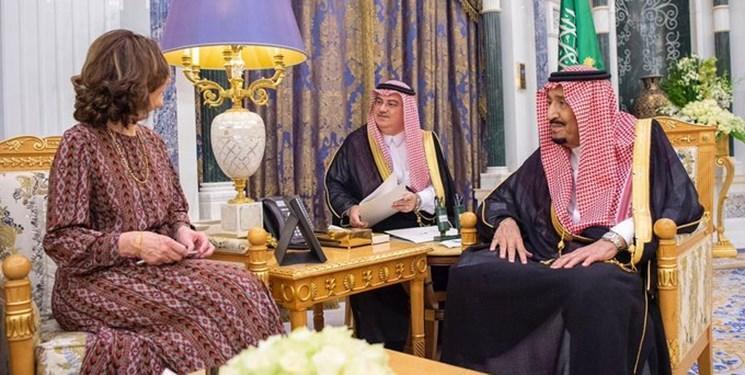 رئیس سیا به دیدار شاه سعودی رفت