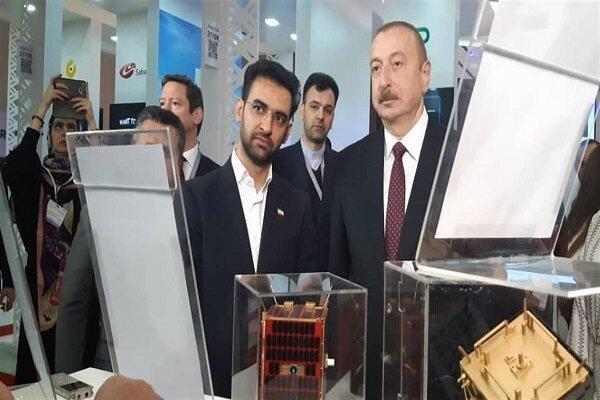 رئیس جمهور آذربایجان دستاوردهای فضایی ایران را ستود