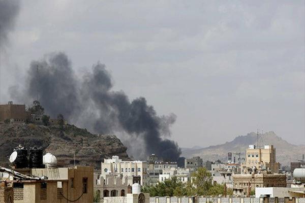 حملات گسترده متجاوزان سعودی به الحدیده یمن