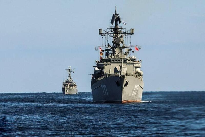 پیغام رزمایش مشترک دریایی ایران، روسیه و چین از زبان ظریف