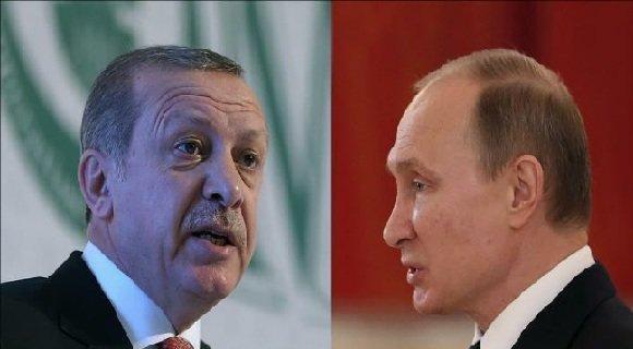 گفتگوی تلفنی پوتین و اردوغان درباره سوریه و لیبی