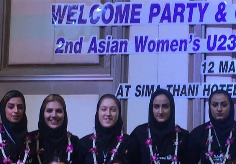 افتتاحیه رقابت های والیبال بانوان زیر 23سال آسیا؛ ساده و به دور از تشریفات