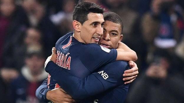 ادامه پیروزی های PSG در لیگ فرانسه