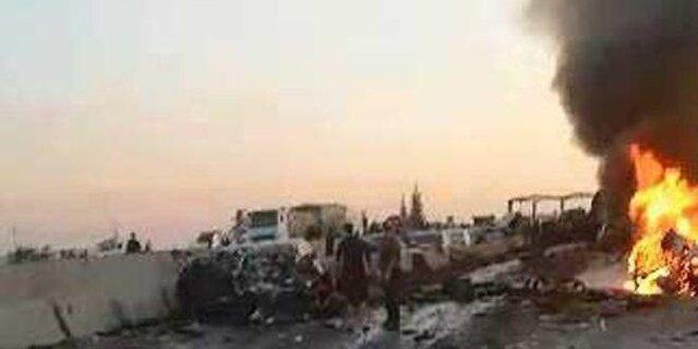 تصادفات جاده ای در سوریه 22 کشته و 70 مجروح برجای گذاشت
