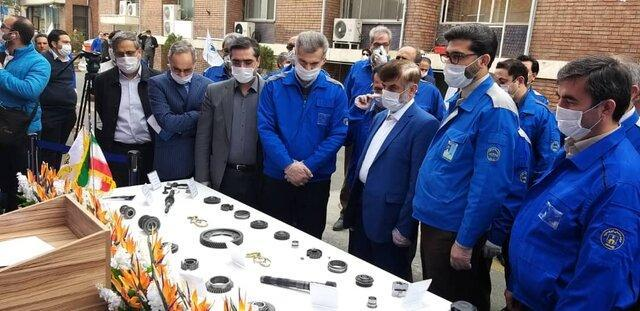 فراوری نخستین گیربکس شش سرعته دستی و اتوماتیک ایرانی