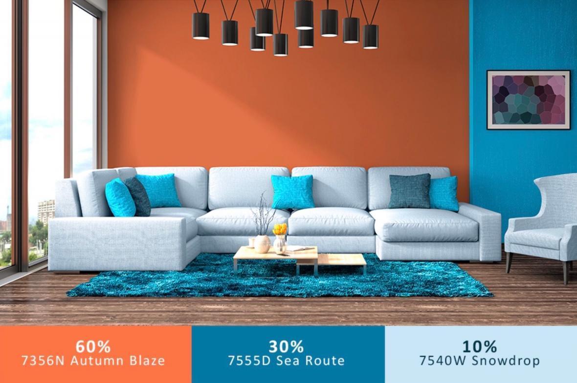 چگونه قانون 10-30-60 برای ترکیب رنگ دکوراسیون داخلی منزل را رعایت می کنید؟
