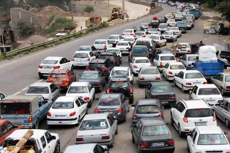 تردد در جاده های کشور 11.5 درصد بیشتر شد