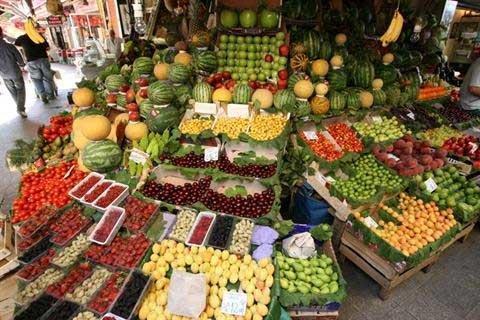 جدیدترین قیمت میوه و صیفی، بی ثباتی در قیمت گیلاس