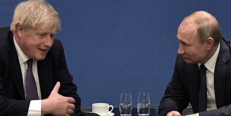 پوتین دعوت جانسون برای شرکت در نشست مجازی مقابله با کرونا را رد کرد