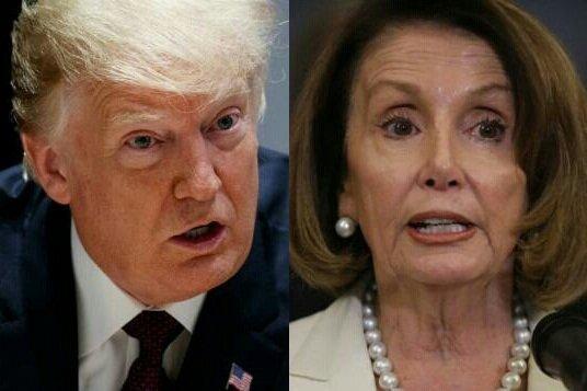 پلوسی خواهان کاهش حدود اختیارات رئیس جمهوری آمریکا