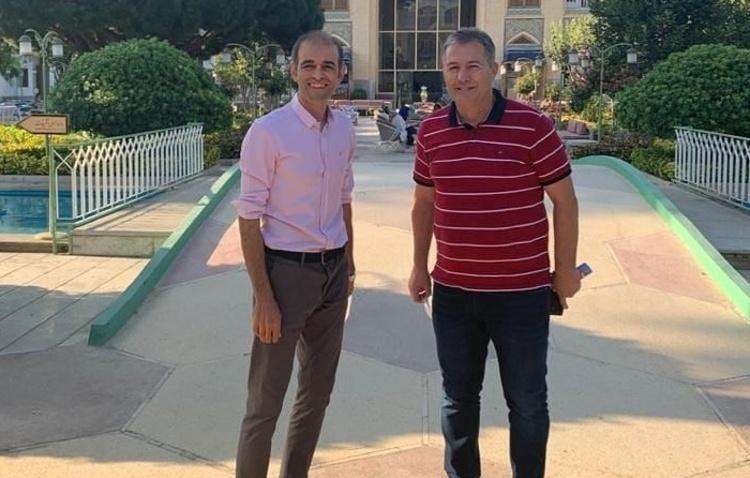 (عکس) ملاقات ویژه اسکوچیچ در هتل عباسی
