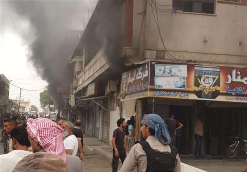 انفجار بمب در حومه درعای سوریه