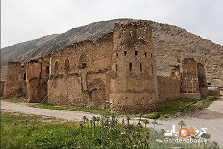 قلعه توت از جاذبه های گردشگری ایلام، عکس