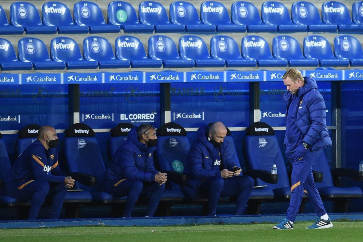 شروع ناامید کننده کومان در بارسلونا؛ 8 امتیاز از 6 بازی