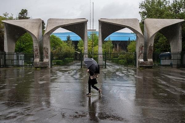 تداوم بارش ها و کاهش نسبی دما در کشور