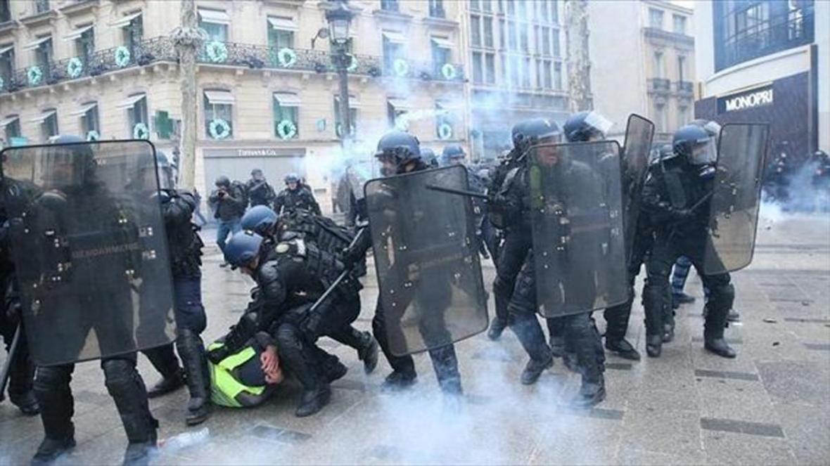 تظاهرات در فرانسه از سرگرفته شد