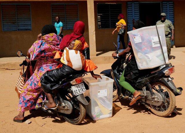 شروع انتخابات ریاست جمهوری در بورکینافاسو