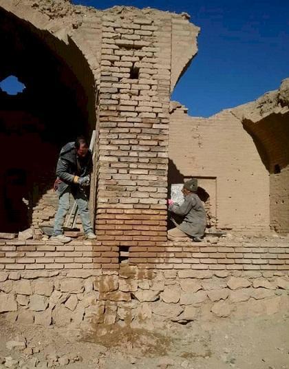 سرانجام فاز اول بازسازی و بهسازی کاروانسرای تاریخی بدشت شاهرود