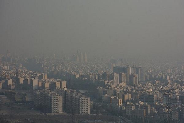 تهران در شرایط قرمز نهاده شد، تشدید آلودگی هوا در پایتخت
