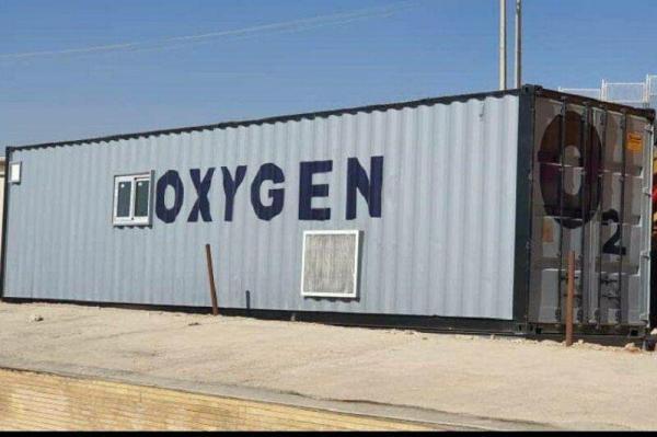 خبرنگاران بیمارستان شهید چمران کنگاور به دستگاه اکسیژن ساز مجهز شد