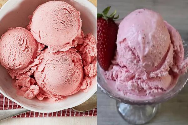 آشنایی با درست کردن بستنی توت فرنگی