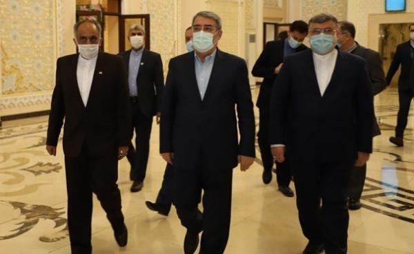 وزیر کشور وارد تاجیکستان شد
