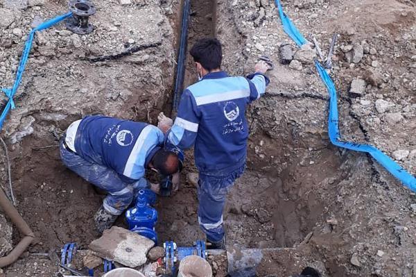 خبرنگاران مشکل آب آشامیدنی 400 مشترک شهرری برطرف شد