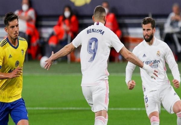 لالیگا، رئال مادرید با یک پیروزی آسان و گل های بنزما صدرنشین شد