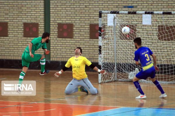 خبرنگاران ملاقات تیمهای فوتسال مقداد مشهد و پاس تهران نیمه تمام سرانجام یافت