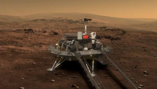 مریخ نورد چین ساعاتی دیگر روی مریخ فرود می آید