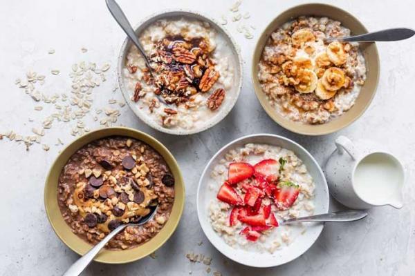 طرز تهیه 8 نوع اوتمیل صبحانه ای مغذی و لذیذ