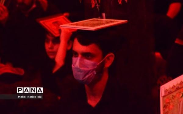 توصیه های کرونایی؛ در زمان حضور در مراسم احیا، به هیچ وجه ماسک را برندارید