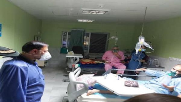مردم در شرایط کرونایی از تجمع در بیمارستان ها خودداری نمایند